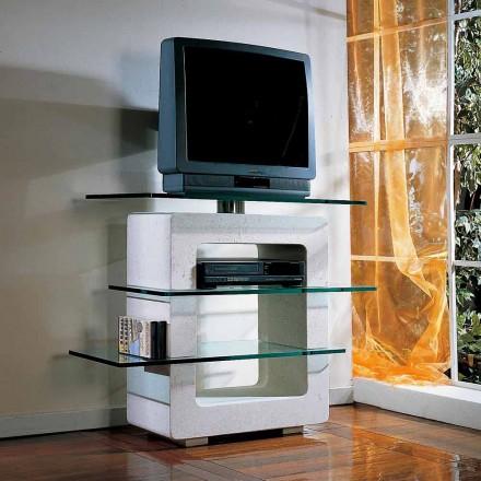 TV-Möbel aus Stein und Kristall in modernem Design Agnes
