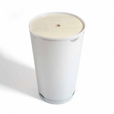 Wäschekorb mit modernem Design-Container Marlis