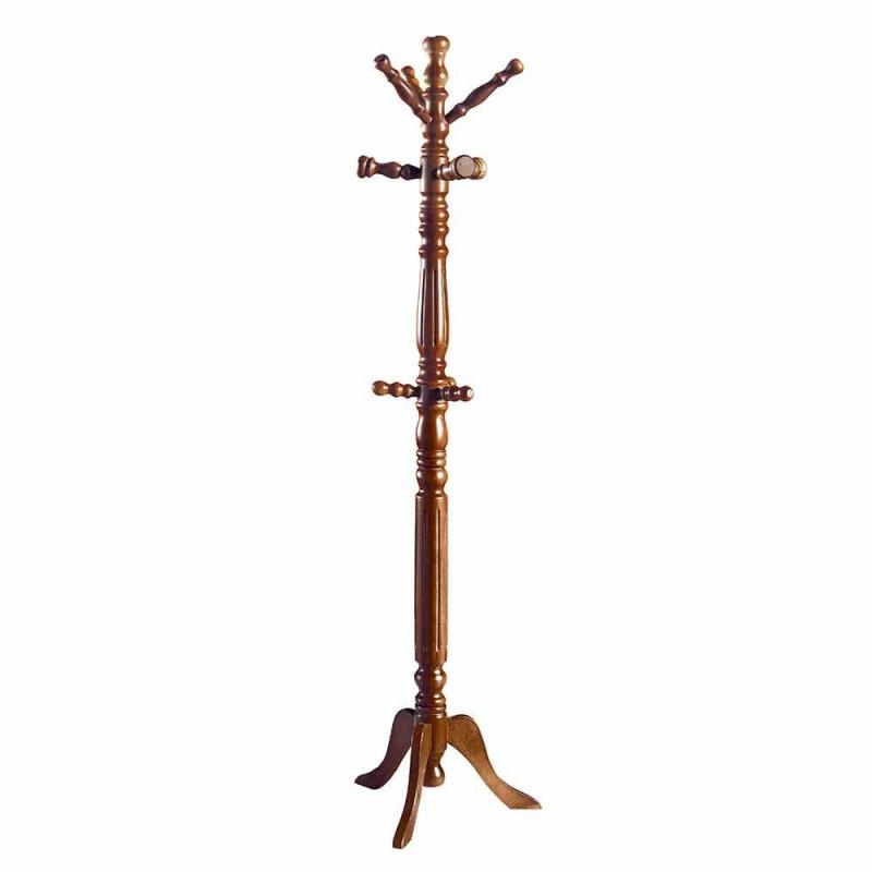 Holzbügel im modernen Design von Cristiano, hergestellt in Italien