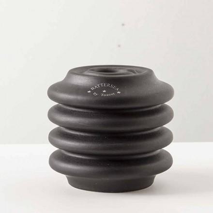 Kerzenhalter aus glasiertem Ton, H 95 cm, Candelsea - Toscot