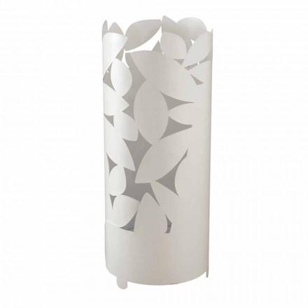Design Schirmständer aus Eisen in Blattform Made in Italy - Piumotto