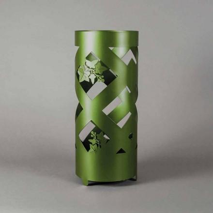 Schirmständer aus farbigem Eisen in modernem Design Made in Italy - Enrica