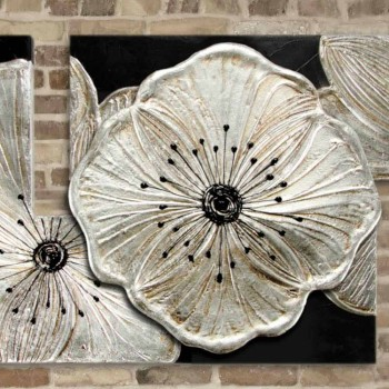 Rahmen Petunia Kleine Silber Pintdecor