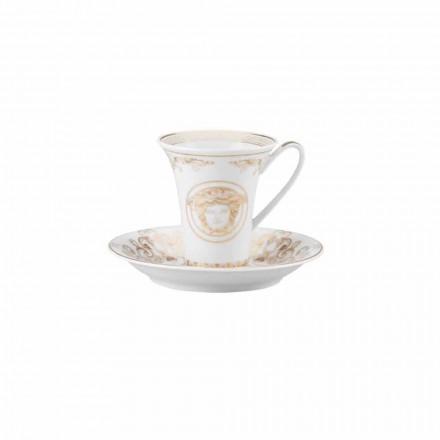 Rosenthal Versace Medusa Gala Porzellan Design Kaffeetasse