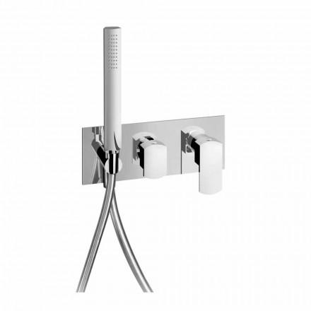 Design Duschmischer mit 3-Wege-Umlenker Made in Italy - Sika