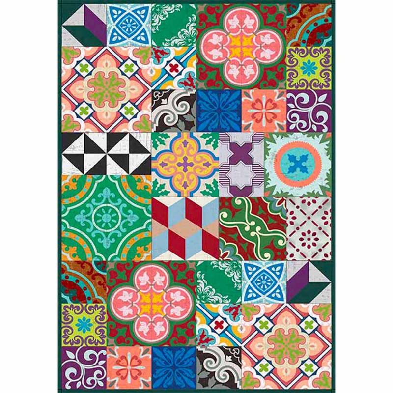 Colourful Design Tischläufer aus PVC und Polyester mit Fantasy - Timio