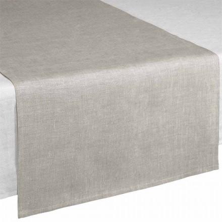 Tisch Runner aus Linen naturton 50x150 cm Made in Italy – Blessy