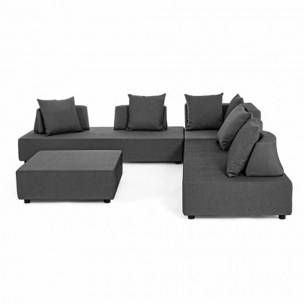 Modernes Design Outdoor Corner Lounge aus Homemotion Stoff - Benito