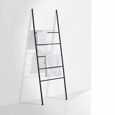 Handtuchleiter in modernem Design aus weißem oder schwarzem Metall - Oppalà