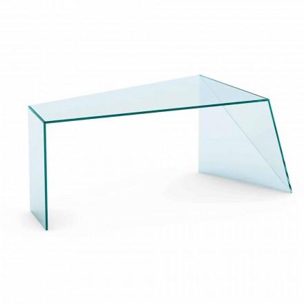 Modernes Design Büro Schreibtisch Extraleichtes Glas Made in Italy - Rosalia