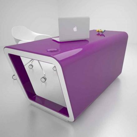 Design Schreibtisch aus Solid Surface® Ego Made in Italy