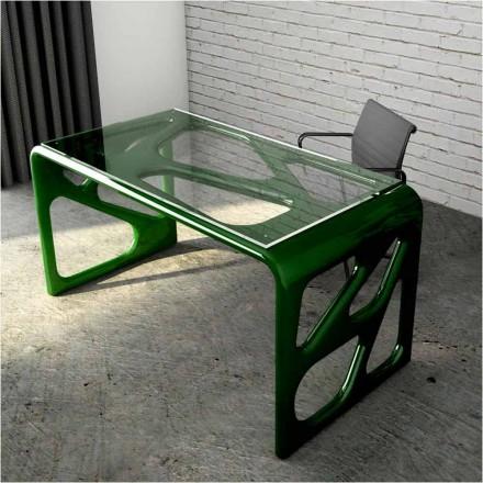 Schreibtisch in modernem Design aus Solid Surface® Illa Made in Italy