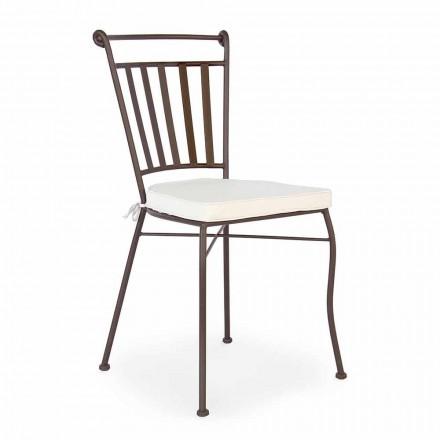 Stahl Outdoor Design Stuhl mit oder ohne Gartenarmlehnen - Ionic