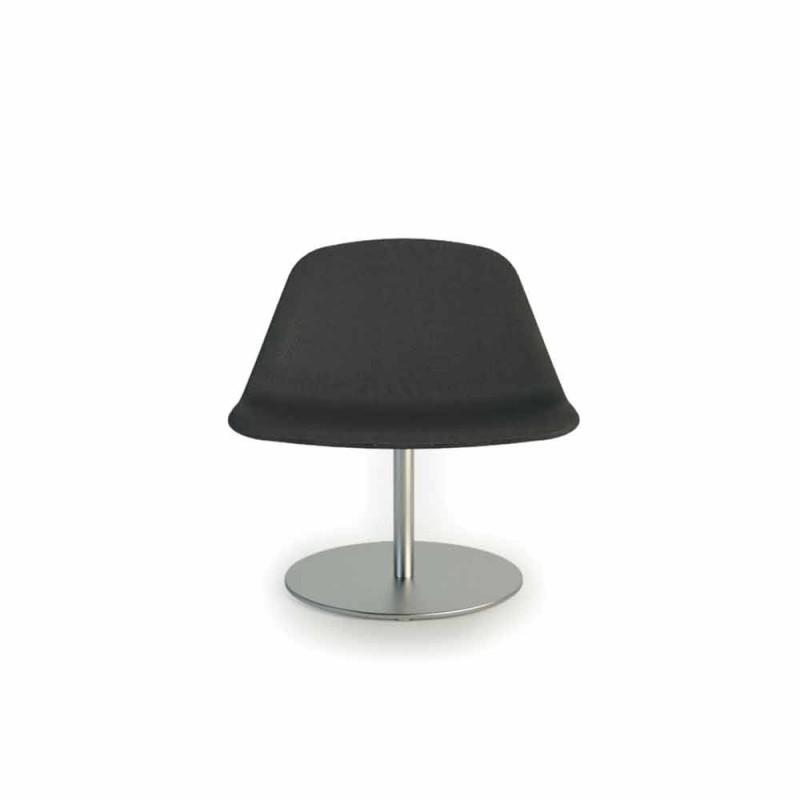Moderne Bürostuhl mit rundem Boden Llounge von Luxy, made in Italy