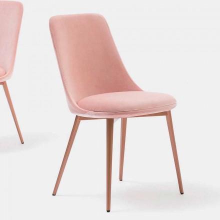Designstuhl aus Stoff und Metall Made in Italy – Bonaldo Itala