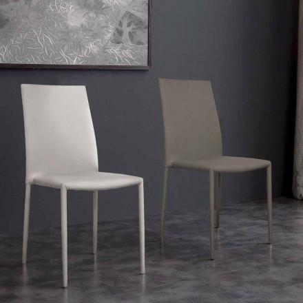 Stuhl aus Kunstleder in modernem Design Desio