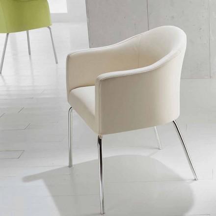 Kunstleder Stuhl in modernem Design Costello