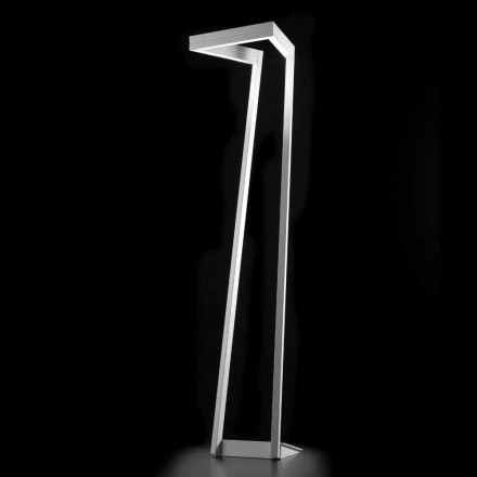 Selene My Way weiße LED-Stehlampe 40x40H180cm, made in Italy