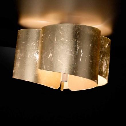 Selene Papiro Deckenlampe aus Kristall, made in Italy Ø46 H28cm