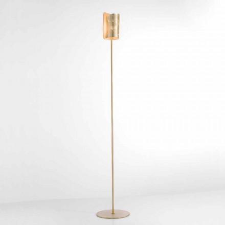 Selene Papiro Stehlampe aus Kristall,  Ø15 H 180cm, modernes Design