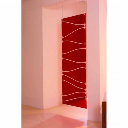 Suspended Methacrylat-Suspension, Farben rot oder Satin Blake