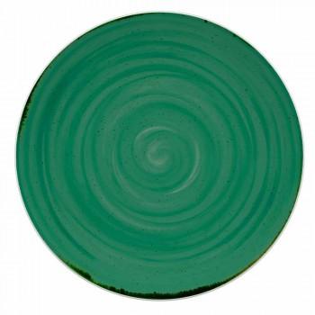 18-teiliger farbiger und moderner Teller-Porzellanservice - Rurolo