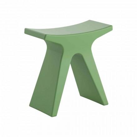 Low Design Outdoor Hocker aus Polypropylen Made in Italy - Prue