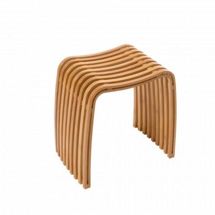 Design Bad Stoll aus heißem gebogenem Bambus Gorizia