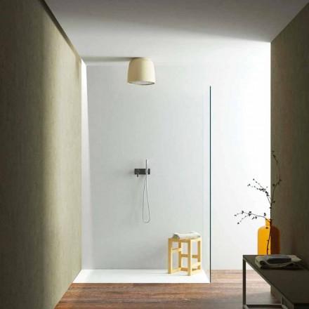 Design Runder Deckenduschkopf in Luxolid made Italy, Ruda