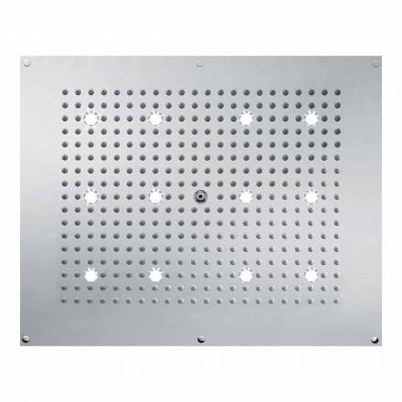 Bossini Duschkopf Regendusche in modernem Design mit LED Beleuchtung