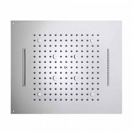Bossini 4-Strahl Regenduschkopf LED in modernem Design Dream