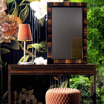 Wand- Bodenspiegel aus Ebenholz Grilli Zarafa in Italien hergestellt