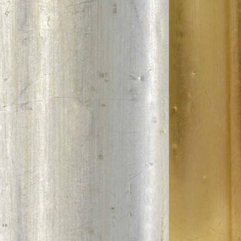 Wandspiegel aus Fichtenholz, italienischer Fries von Elia