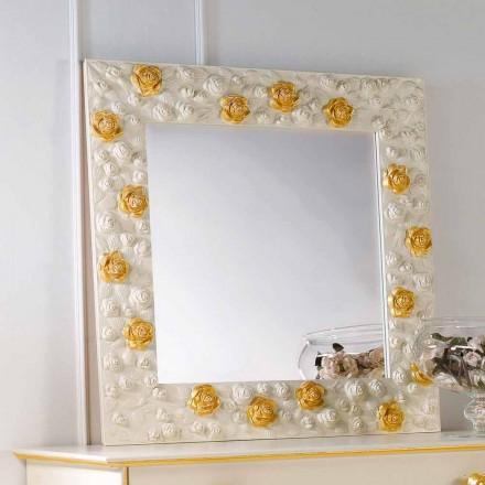 Wandspiegel mit Spiegelrahmen Flower