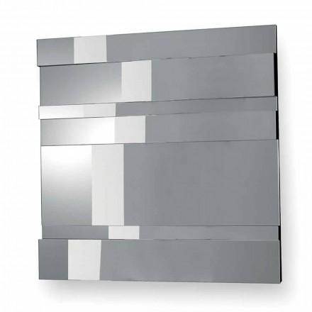 Modernes Design Wandspiegel aus Glas und Metall Made in Italy - Pallino