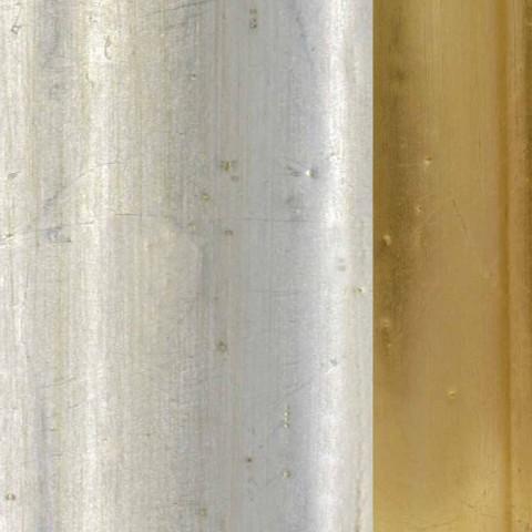 Tannenholzfußbodenspiegel mit Sockel made in Italy Jonni