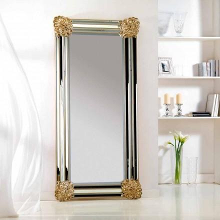 Wand/ Standspiegel mit Spiegelrahmen 96x196
