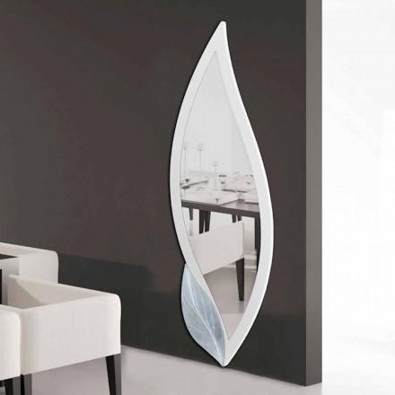 Wandspiegel in Blütenform Ellen aus MDF Made in Italy