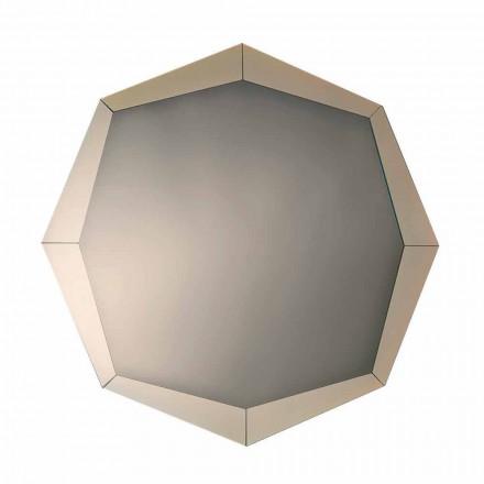 Design Spiegel in verspiegeltem Kristall Finish Made in Italy - Bolina