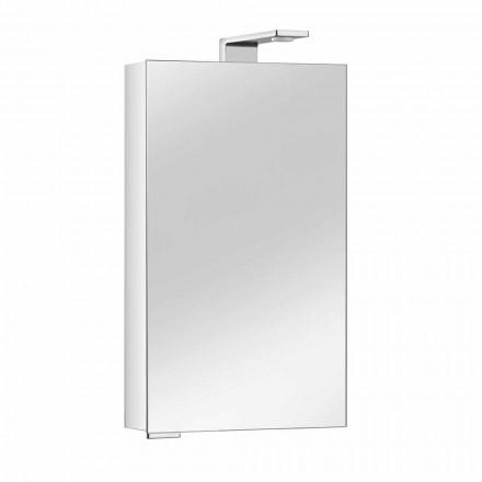 Spiegelschrank mit Kristalltür und Chromdetails, Modern - Maxi