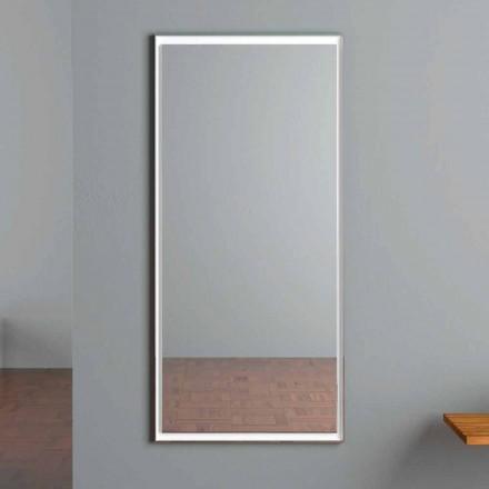 LED beleuchteter Wandspiegel mit Touch-Schalter Made in Italy - Ammar