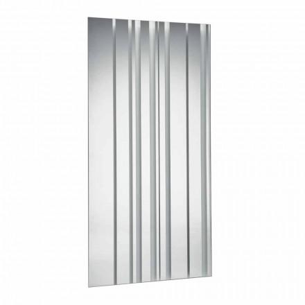Rechteckiger rechteckiger Wandspiegel aus modernem Design Made in Italy - Coriandolo