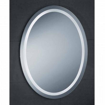 Modernes Design-Spiegel mit Pura Badezimmer LED-Beleuchtung