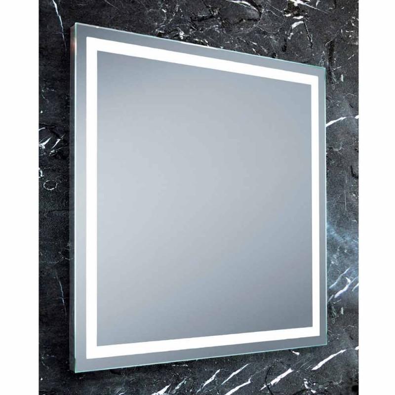 Badezimmerspiegel im modernen Design mit LED Paco Beleuchtung