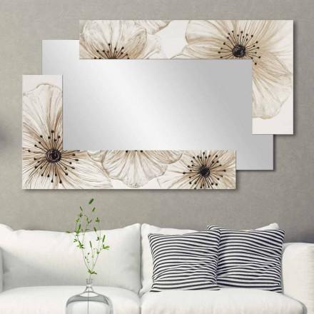 Wandspiegel in modernem Design Sabbiate Viadurini Decor