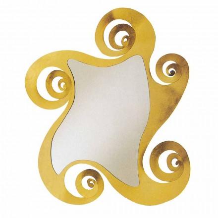 Moderner Design förmigen Wandspiegel aus Eisen, hergestellt in Italien - Pacifico