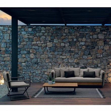 Talenti Domino Gartenlounge Set in modernem Design made in italy