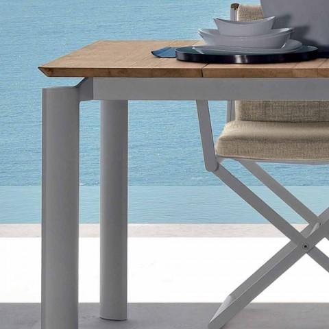 Talenti Domino ausziehbarer Gartentisch 200 / 260cm made in Italy