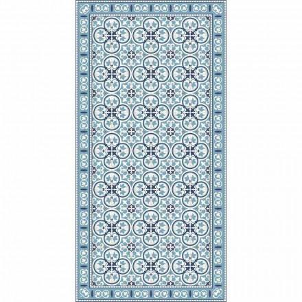 Moderner gemusterter Küchenteppich aus PVC und Polyester - Lindia