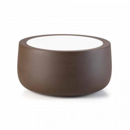 Low Design Outdoor Couchtisch aus HPL und Polyethylen Made in Italy - Belida